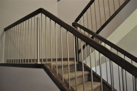 metal stair railing home interior ideas trends including