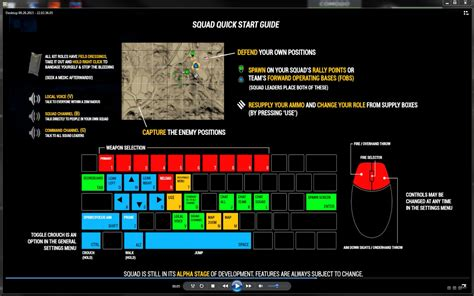 pubg keyboard keyboard commands software support squad forums