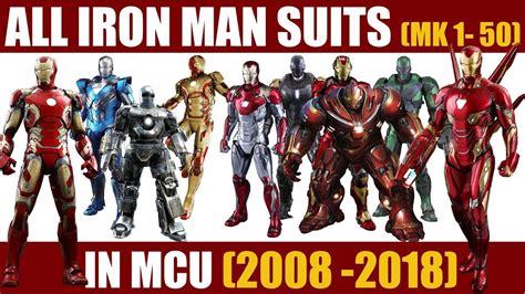 iron man suits mark mcu