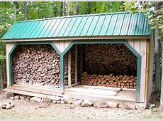 Woodbin 8x - Jamaica Cottage Shop Firewood Storage