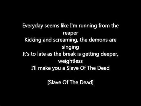 lyrics bullet for my bullet for my raising hell lyrics
