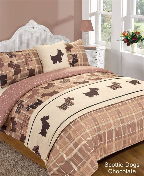 Duvet Covers Sets 5 Pce Duvet Cover Set Economical Range Bedding Size Was Sold 5 Bed In Bag Duvet Quilt Cover Scottie Tartan Animal Print Bedding Set Ebay