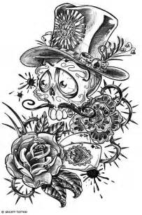 day of the dead tattoo designs day of the dead skull