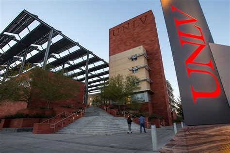 Unlv Mba Details by Study Hospitality In Las Vegas Student World