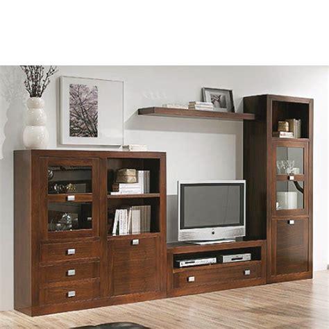 muebles  salon comedor madera nogal en  mallas