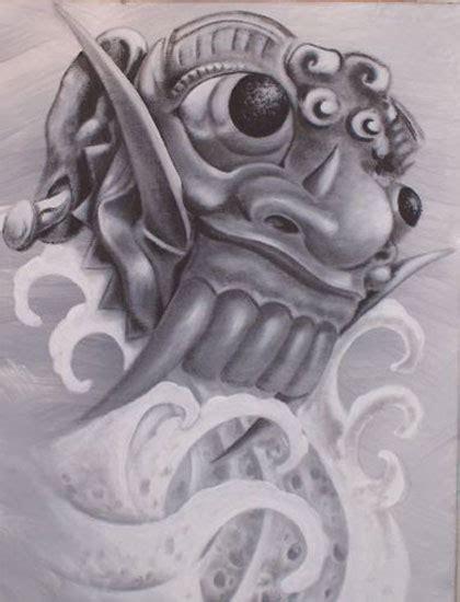 barong mask tattoo design 9 most popular barong tattoo designs
