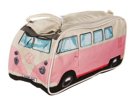 pink volkswagen van retro vw van autos post