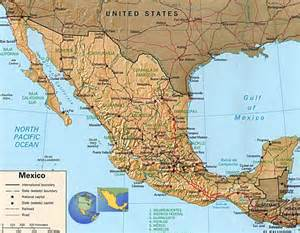 Usa Mexico Map by Map Of Usa And Mexico Pictures To Pin On Pinterest Pinsdaddy