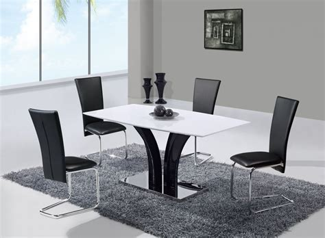 Designer Kitchen Chairs Extendable Frosted Glass Top Leather Designer Table And Chairs Set With Leaf Los Angeles