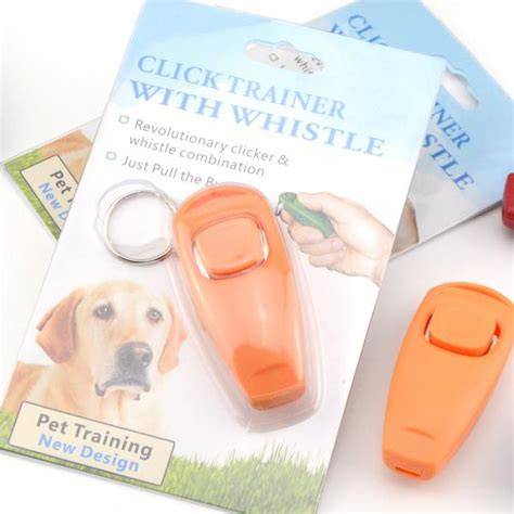 Clicker For Obedience ultrasonic pet bird whistle click clicker obedience