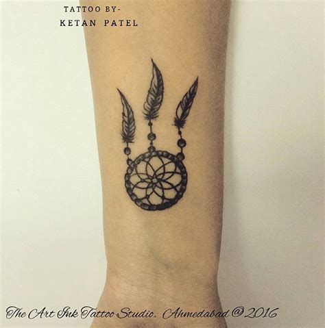 dreamcatcher wrist tattoos 25 best ideas about small dreamcatcher on