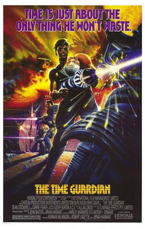 film action indonesia guardian the time guardian 1987 action sci fi movie posters