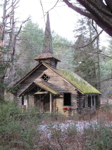 theme park upstate new york the church is part of an abandoned wild west theme park in