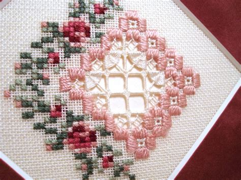 simple hardanger pattern emie bishop hardanger design made with kreinik silk