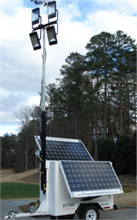 energy progress lighting llc sunbelt rentals now offering progress solar light towers