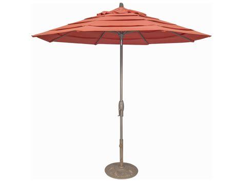 Treasure Garden Patio Umbrella Treasure Garden Milan 9 Foot Crank Lift Auto Tilt Umbrella Um81 Ml