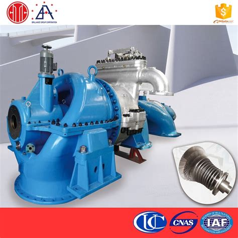 trade assurance 1000kw steam powered electric generator
