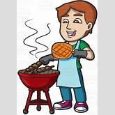 Funny Bbq Clip Art Related Keywords & Suggestions - Funny Bbq Clip Art ...