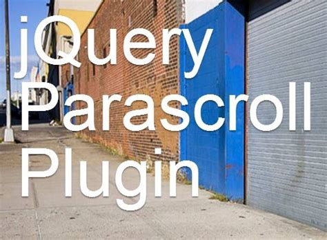 css scrollable div smooth background parallax scrolling effect with jquery