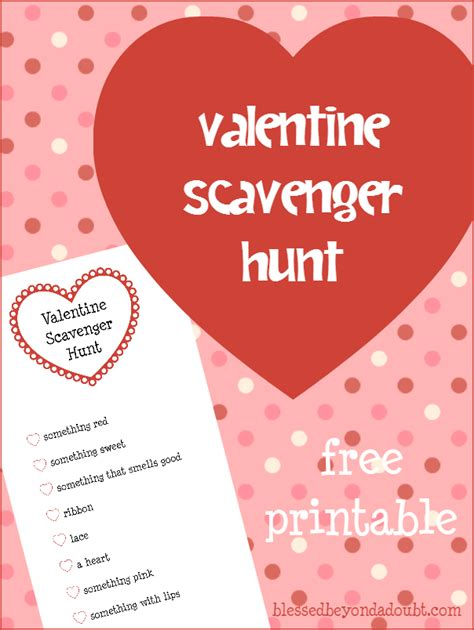 valentines day scavenger hunt clues 14 ways to celebrate s day with gifts