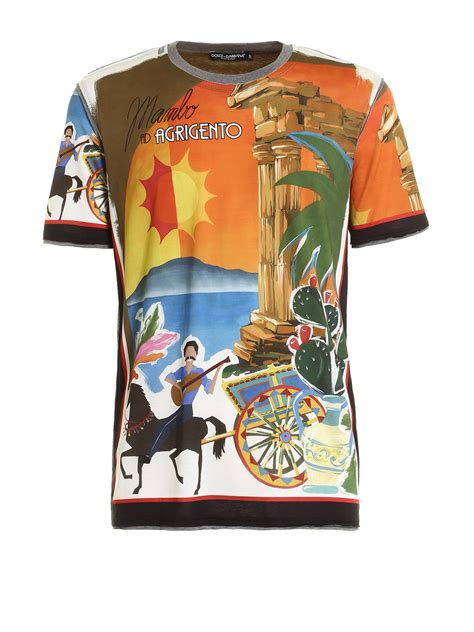 T Shirt Mambo agrigento mambo print t shirt by dolce gabbana t