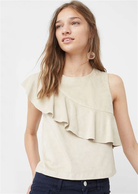 25 best ideas about ruffle top on ruffles