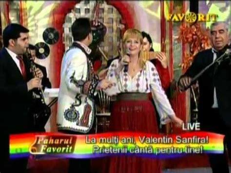 valentin sanfira ileana ciuculete si valentin sanfira frunzulita si o
