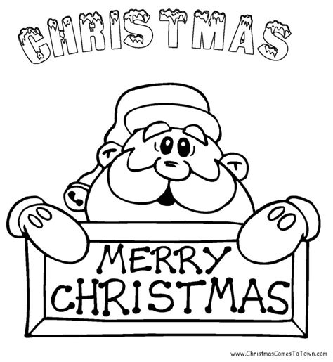 Christmas Coloring Sheets To Print For Free L