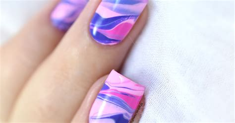 tutorial nail art love nailstorming couleurs froides ft kinetics love in the