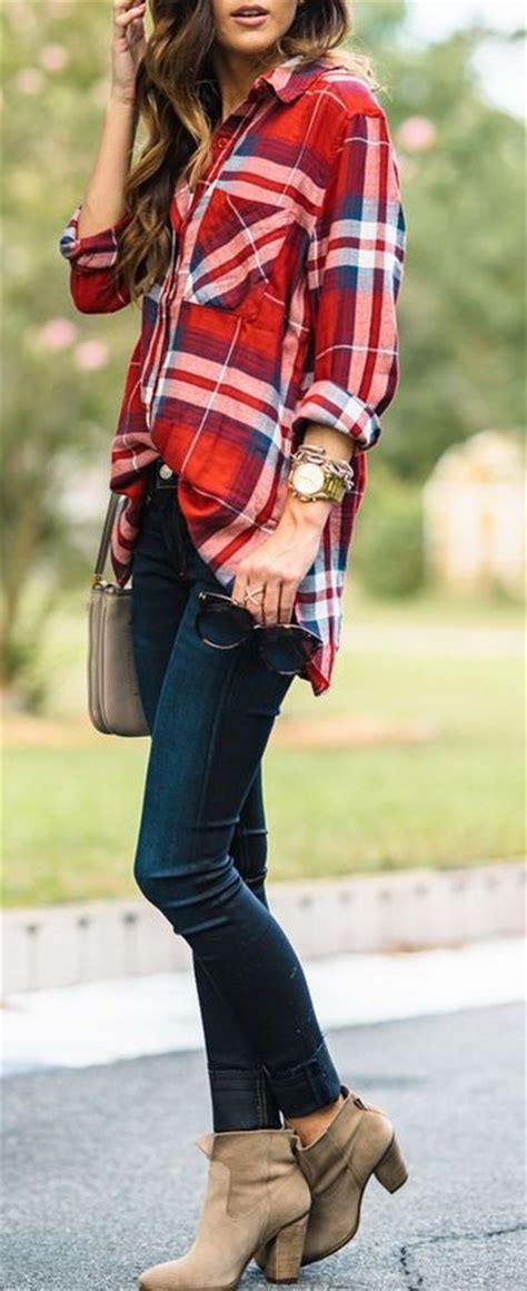 Casual Trend Alert Plaid Shirts Andjeans by 25 Best Ideas About Ankle Boot On