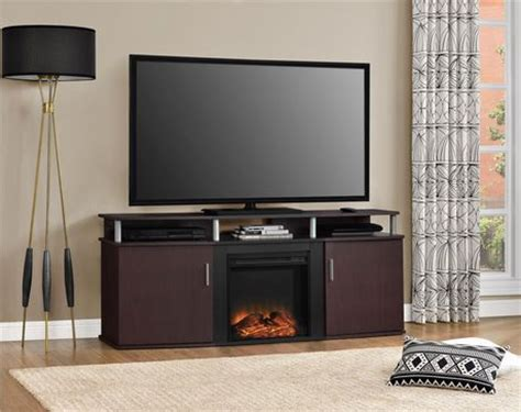 Fireplace Tv Stand Walmart Canada by Dorel Tv Console Carson Fireplace Walmart Canada