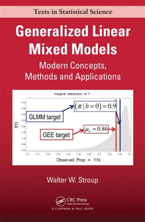 generalized linear models with applications in engineering and the sciences generalized linear mixed models modern concepts methods