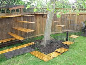 outdoor cat enclosure plans image search results
