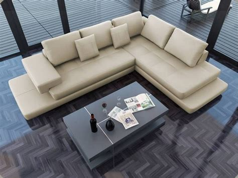 Torano Signature Leather Sectional Modern Sofas Los Modern Sectional Sofas Los Angeles