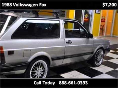 how do cars engines work 1988 volkswagen fox head up display 1988 volkswagen fox used cars pompano beach fl youtube