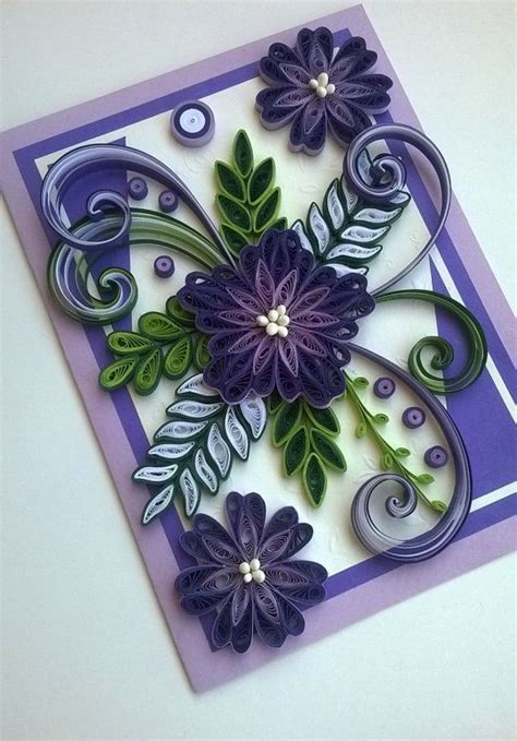 quilling tutorial card quilling card quilled mother day card quilled birthday