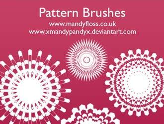 pattern brush c pattern brushes shape photoshop brushes brushlovers com