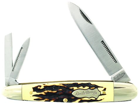 henry staglon cigar whittler knife hill cutlery