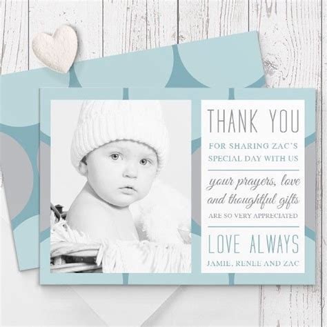 Baptism Thank You Card Template by 17 Best Ideas About Christening Thank You Cards On