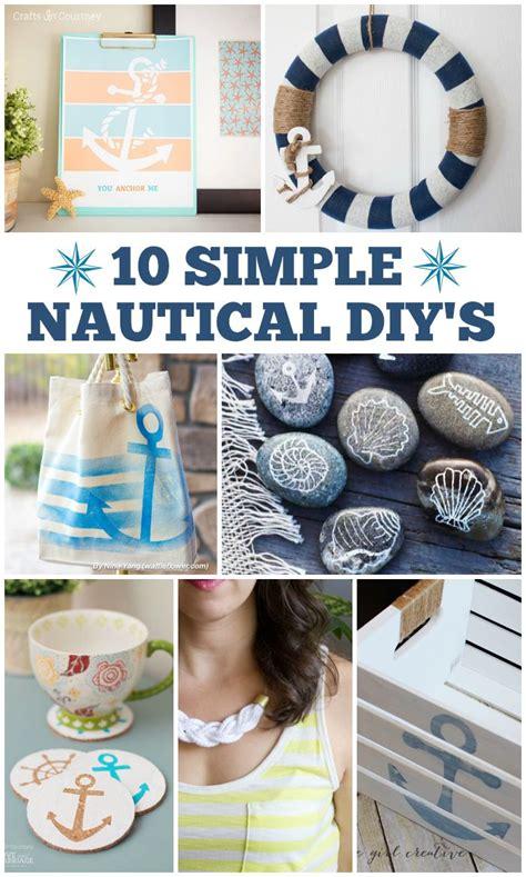 10 simple nautical diy s crafts diy home decor decor nautical home
