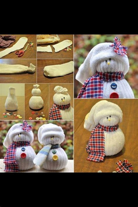 diy sock snowman diy sock snowman diy crafts and useful