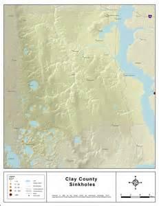 sinkhole activity map florida sinkholes of clay county florida 2008