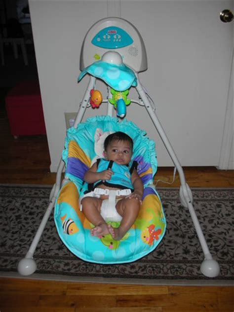 fisher price swing blue com fisher price precious planet blue sky cradle