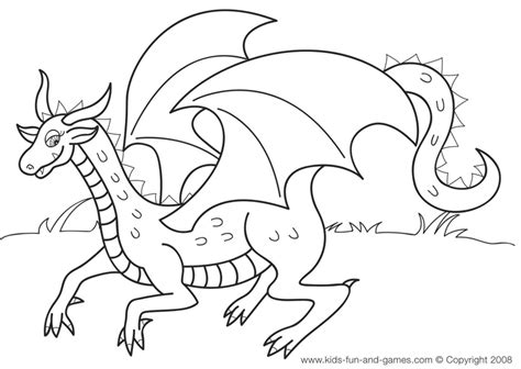 dragon coloring pages games kids dragon coloring sheets free at kids games central