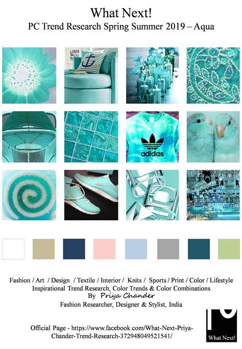 color trends what s new what s next hgtv aqua aquablue ss19 fashiondesigner spring2019