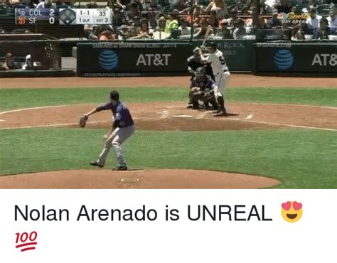 one outs 33 1 1 33 1 out bot 3 at t at8 nolan arenado is