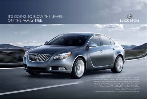 car ads 2016 2011 buick regal print ads to invade the us autoevolution