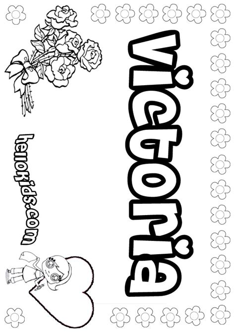 coloring book for names coloring pages hellokids