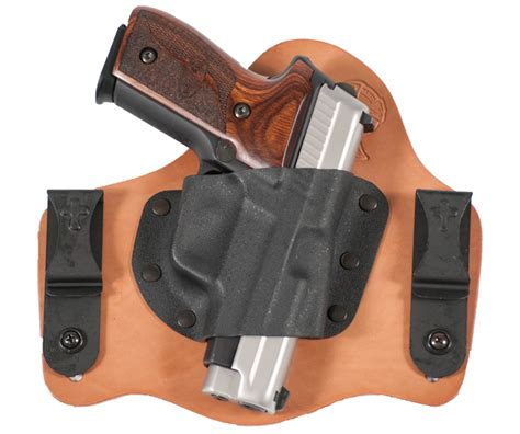 comfortable concealed carry holster hybrid holsters for concealed carry gun digest