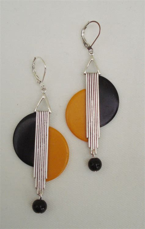 Geometric Hoop Earring 21 geometric earring designs ideas models design